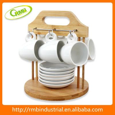 set/6 ceramic coffee tea pot set(RMB)
