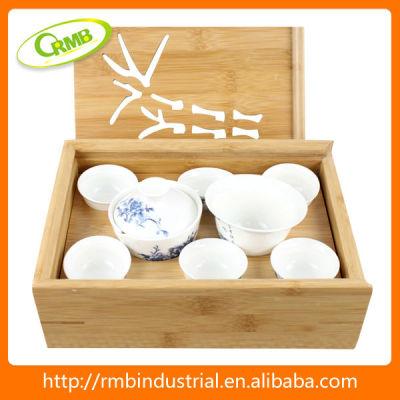 6pcs new design porcelain tea set(RMB)