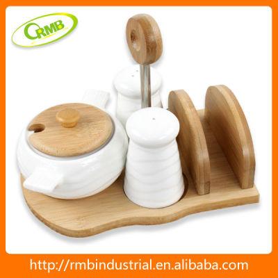 2013 new elegant design ceramic spice rack(RMB)