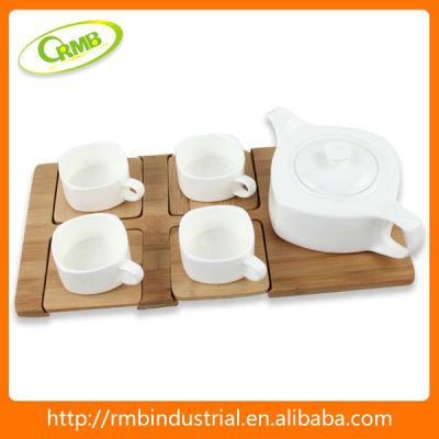5/set hot custom ceramic bulk tea cup set(RMB)