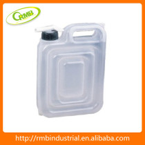 large plastic water container with tap