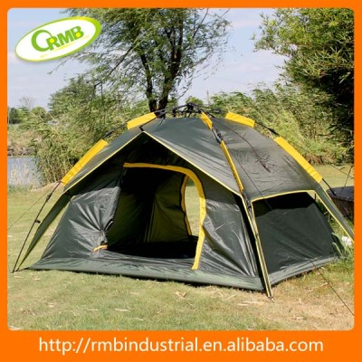 4 person 2 doors auto used army tents