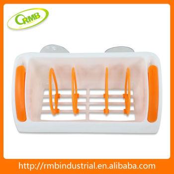 Plastic bathroom rack