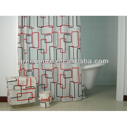 EVA Material Shower Curtain