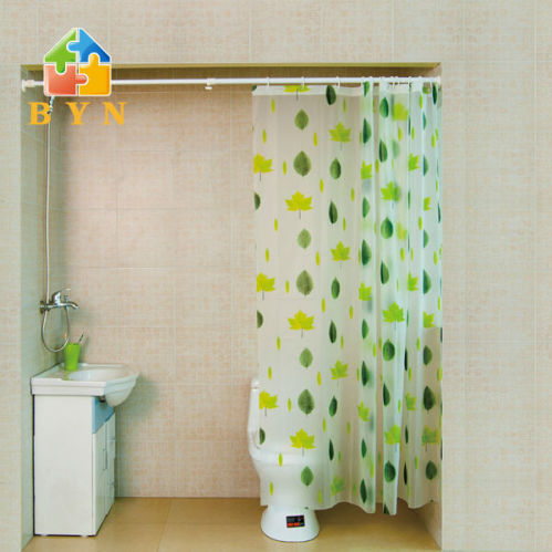 Byn Plastic Shower Curtain Rod Clothes Hanger Pole Dq 0124 P China Shower Rod Supplier