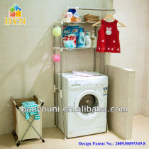 BAOYOUNI washing machine rack with stainless steel pipes5021-2 c1