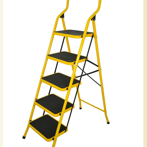 Bonunion 5 Step Folding Ladders With Handrails Ty05 China