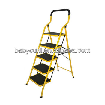 Stupendous Bonunion 5 Step Folding Ladder Chair Step Ladder Chair Squirreltailoven Fun Painted Chair Ideas Images Squirreltailovenorg