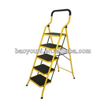 Superb Bonunion 5 Step Folding Ladder Chair Step Ladder Chair Machost Co Dining Chair Design Ideas Machostcouk