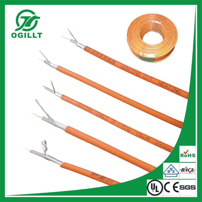 Roof Heat Cable : Roof heat cables buy floor cable