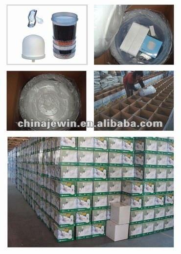 New 16L Flat Lid Mineral Water filter Pot