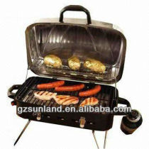 Deluxe Portable Gas Outdoor BBQ Grill with Burner and Regulator, Best Gas Grill Ratings