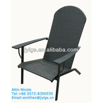 KD biglots Lawn and Garden Resin Rattan assembly deck chair with strong steel frame