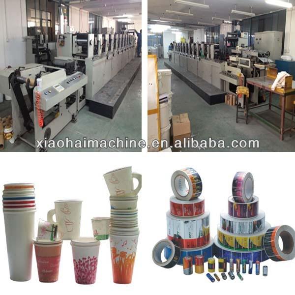 narrow web flexo printing machine