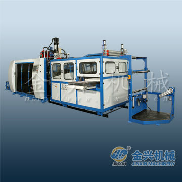 RCX-700 tilt mold pp cup thermoforming machine