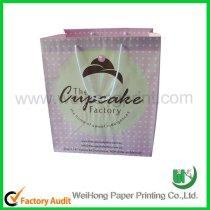 high quality cupcake paper bag