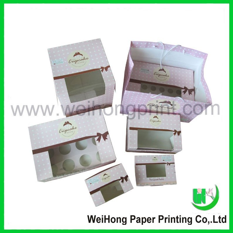 Paper food packaging bag