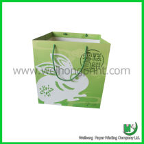 Big green moon cake bag