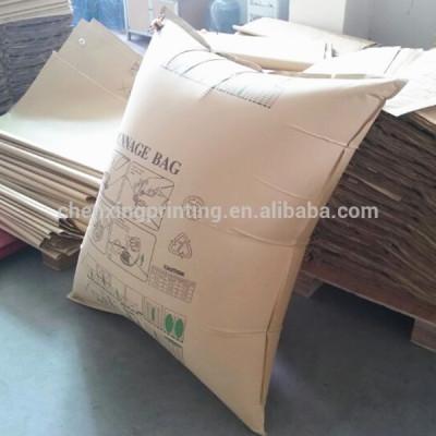 2014 Custom Printed Kraft Paper Cargo Dunnage Bag Inflator Factory China