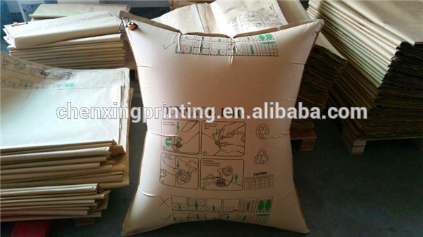 Custom Printed Kraft Paper Airbag Inflator for Container