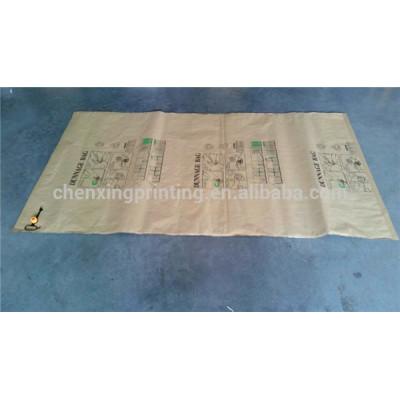 2014 Custom Printed Kraft Paper Container Air Cushion Bags Factory China