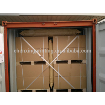 hot sell kraft paper dunnage air bag to protect goods in truck