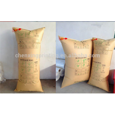 2014 Custom Printed Kraft Paper Airbags Inflator for Container