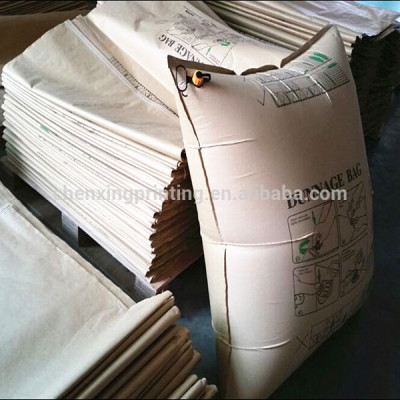 Factory China Custom Printed Kraft Paper Container Air Pillow Bag