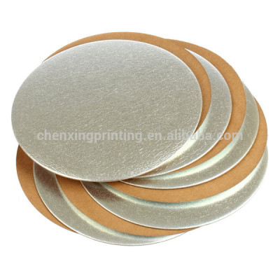 Bespoke Corrugated Silver Thin Cake Cardboard Wholesale