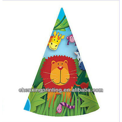 Jungle Animals Party Hats