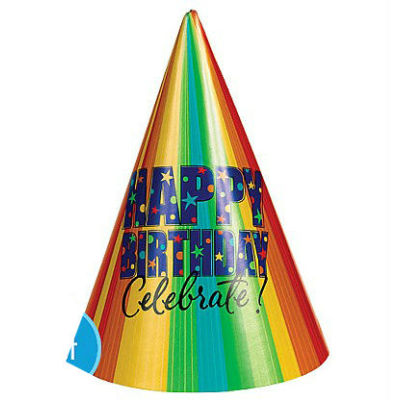 A Year to Celebrate Happy Birthday Party Hat