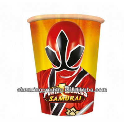 Power Rangers Party Paper Cups
