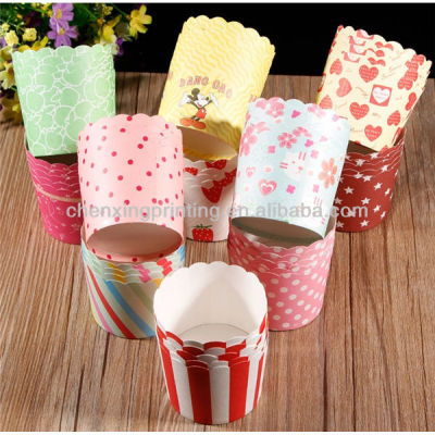Biodegradable Mini Muffin Cups Paper Wholesale with Factory Direct Price