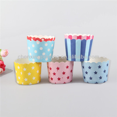 Biodegradable Tulip Muffin Paper Backing Cups Wholesale with Factory Direct Price