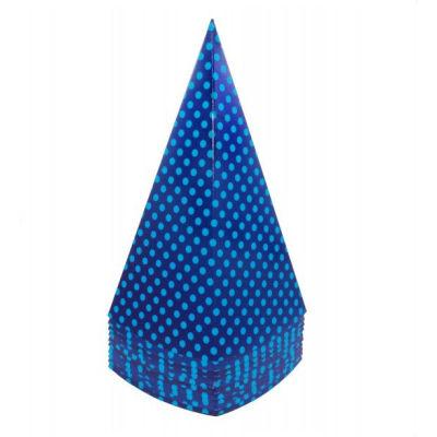 Blue Spot Popcorn Cones