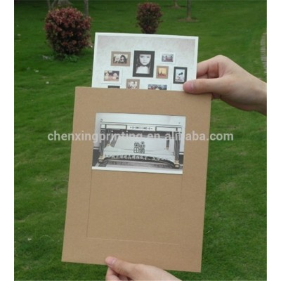 cheap paper board 4x6 paper photo frames wholesale
