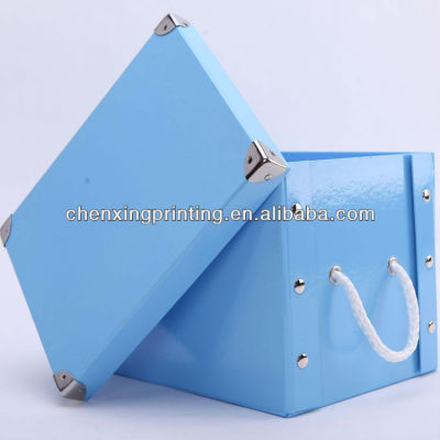 Biodegradable New Design Paper Underwear Box with Handle