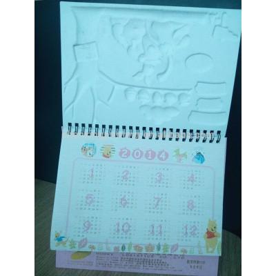 Cute Standing 2014 Custom-made Desk Calendar Designs 2014