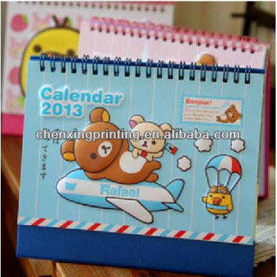 Lovely Customized Paper Calendar 2014