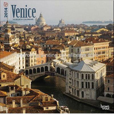 Venice 2014 Wall Calendar