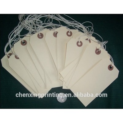 Manila Hang Tags W/String for Your PriMitive CrafTs