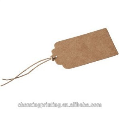 Brown Paper Tag with Brown String