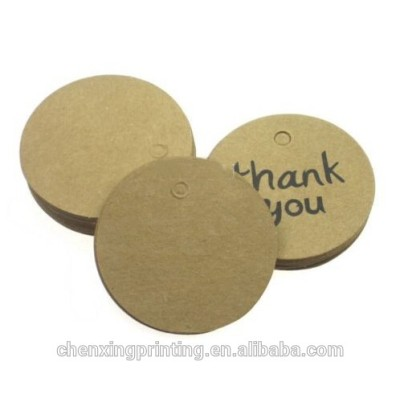 Thank You Brown Kraft Paper Tag With Jute Twines 20m Wedding Favor