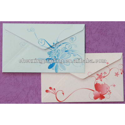 Hot Selling OEM printed kraft paper gift or business envelope with wholesale price