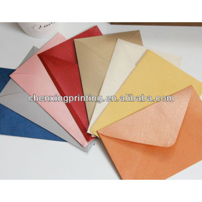 The eco-friendly various colors and sizes Paper Envelope Made in China