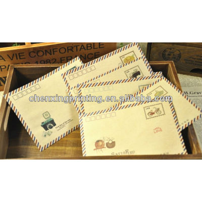 Hot selling Color Paper Envelopes with Printing