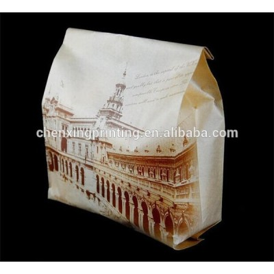 china style custom design flour paper bag printing your logo