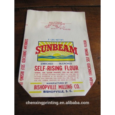 Kraft bag paper bags flour paper bag