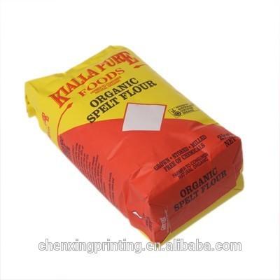OEM Production Customized flour paper bag