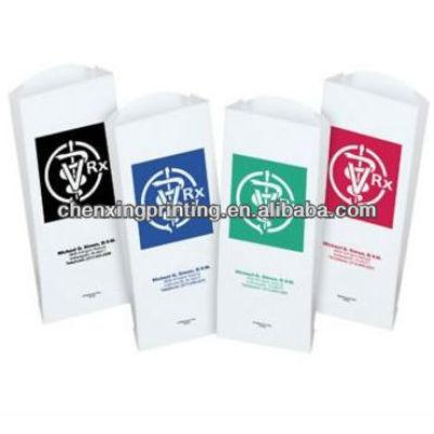 OEM Printed FDA Kraft Pharmacy Bags